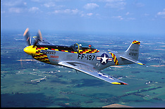 AVIATION -- P-51 MUSTANG AND OTHER HISTORIC PLANES