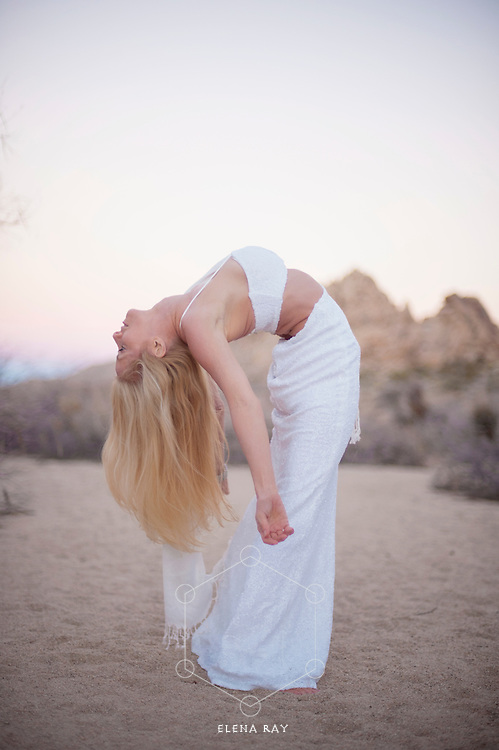 Kim Tang, Bikram yoga teacher in Johsua Tree, CA