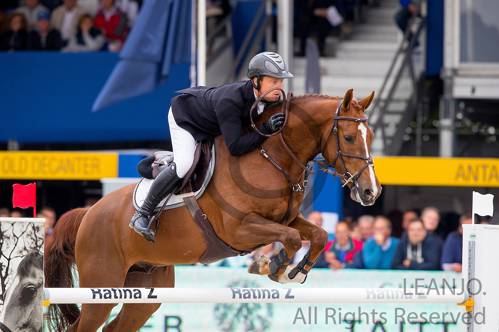Willem Greve - Garant<br /> FEI World Breeding Jumping Championships for Young Horses 2016<br /> © DigiShots