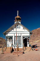 One-Room School House, Calico Ghost Town, California