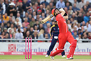 Lancashires Liam Livingstone (Capt) during the Vitality T20 Blast North Group match between Lancashire County Cricket Club and Yorkshire County Cricket Club at the Emirates, Old Trafford, Manchester, United Kingdom on 20 July 2018. Picture by George Franks.