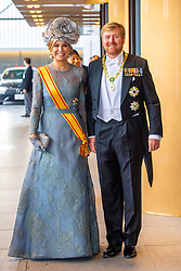 October 22, 2019, JAPAN: 22-10-2019 Inhuldiging Enthronement ceremony of Emperor Naruhito of Japan in Tokyo..Queen Maxima and King Willem-Alexander arrives at the Imperial Palace to attend the proclamation ceremony of Japans Emperor in Tokyo, Japan. (Credit Image: © face to face via ZUMA Press)