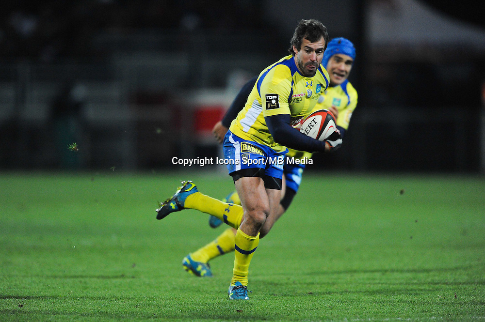 Brock James  - 28.12.2014 - Lyon Olympique / Clermont - 14eme journee de Top 14 <br />