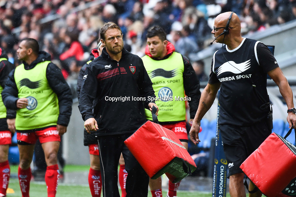 Jonnhy Wilkinson - 19.04.2015 - Toulon / Leinster - 1/2Finale European Champions Cup -Marseille<br /> Photo : Andre Delon / Icon Sport