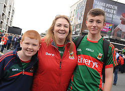 Colin, Marie and Oisin O&rsquo;Donnell from Belmullet<br />