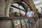 EJ Cunningham at EJ's Menswear, Gratton Street, Sligo.<br /> Photo: James Connolly<br /> 14JUL17
