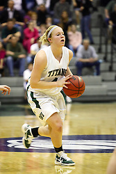 18 March 2011: Brittany Hasselbring during an NCAA Womens basketball game between the Washington University Bears and the Illinois Wesleyan Titans at Shirk Center in Bloomington Illinois.