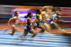 March 2, 2018 - Birmingham, England, United Kingdom - Heat 1 at 60 meter semi final at World indoor Athletics Championship 2018, Birmingham, England on March 2, 2018. (Credit Image: © Ulrik Pedersen/NurPhoto via ZUMA Press)