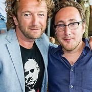 NLD/Amsterdam/20160829 - Seizoenspresentatie RTL 2016 / 2017,  Albert Jan van Rees en Pepijn Gunneweg