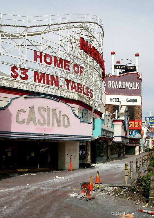 Boardwalk Casino. Las Vegas Nevada, Las Vegas Strip, Demolished 2007