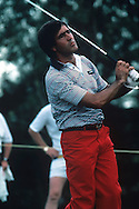 Seve Ballesteros<br /> Ryder Cup 1983<br /> Picture Credit:  Mark Newcombe / www.visionsingolf.com