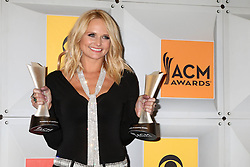 Miranda Lambert, at the 2016 Academy of Country Music Awards Press Room, MGM Grand Garden Arena, Las Vegas, NV 04-03-16. EXPA Pictures © 2016, PhotoCredit: EXPA/ Photoshot/ Martin Sloan<br /> <br /> *****ATTENTION - for AUT, SLO, CRO, SRB, BIH, MAZ, SUI only*****
