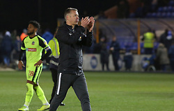 Peterborough United Manager Darren Ferguson acknowledges the supporters at full-time - Mandatory by-line: Joe Dent/JMP - 14/12/2019 - FOOTBALL - Weston Homes Stadium - Peterborough, England - Peterborough United v Bolton Wanderers - Sky Bet League One