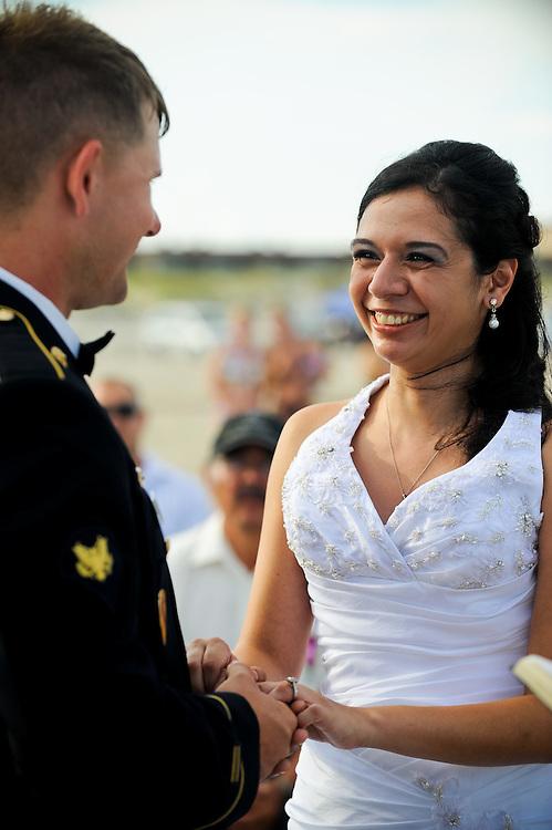 8/13/11 6:11:49 PM -- Port Aransas, TX.Wedding of Connie Torres and Doug Bernal Saturday, August 13, 2011 in Port Aransas.