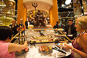 Big Band Bites - chocolate and sweets buffet aboard the Rhapsody of the Seas.