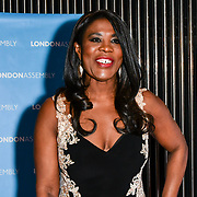 Joanne Caesar attend Awareness gala hosted by the Health Committee with live music and poetry performances at City Hall at The Queen's Walk, London, UK. 18 March 2019.