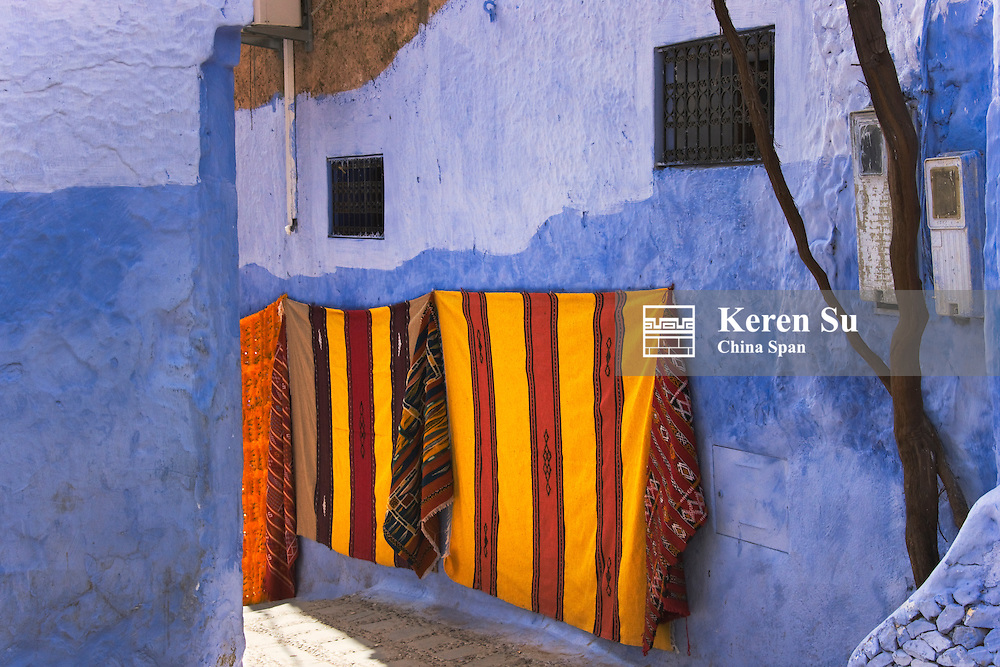 Traditional house, Chefchaouen, Morocco