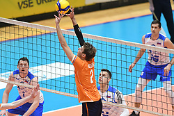 Wessel Keemmink of Netherlands during friendly volleyball match between National Men teams of Slovenia and Netherlands, on Januar 2nd, 2020, in Dvorana Tabor, Maribor, Slovenia. Photo by Milos Vujinovic / Sportida