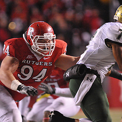 Nov 12, 2009; Piscataway, NJ, USA; during first half NCAA Big East football action between Rutgers and South Florida at  Rutgers Stadium.