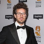 NLD/Hilversum//20140318 - Inloop Buma Awards 2014,  DJ Paul Rabbering