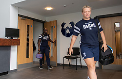 Jessica Thomas at Bristol Bears Women new home, Shaftesbury Park - Mandatory by-line: Paul Knight/JMP - 02/09/2018 - RUGBY - Shaftsbury Park - Bristol, England - Bristol Bears Women v Dragons Women - Pre-season friendly
