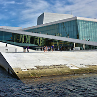 National Opera House in Oslo, Norway<br />