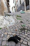 A street in L'Aquila