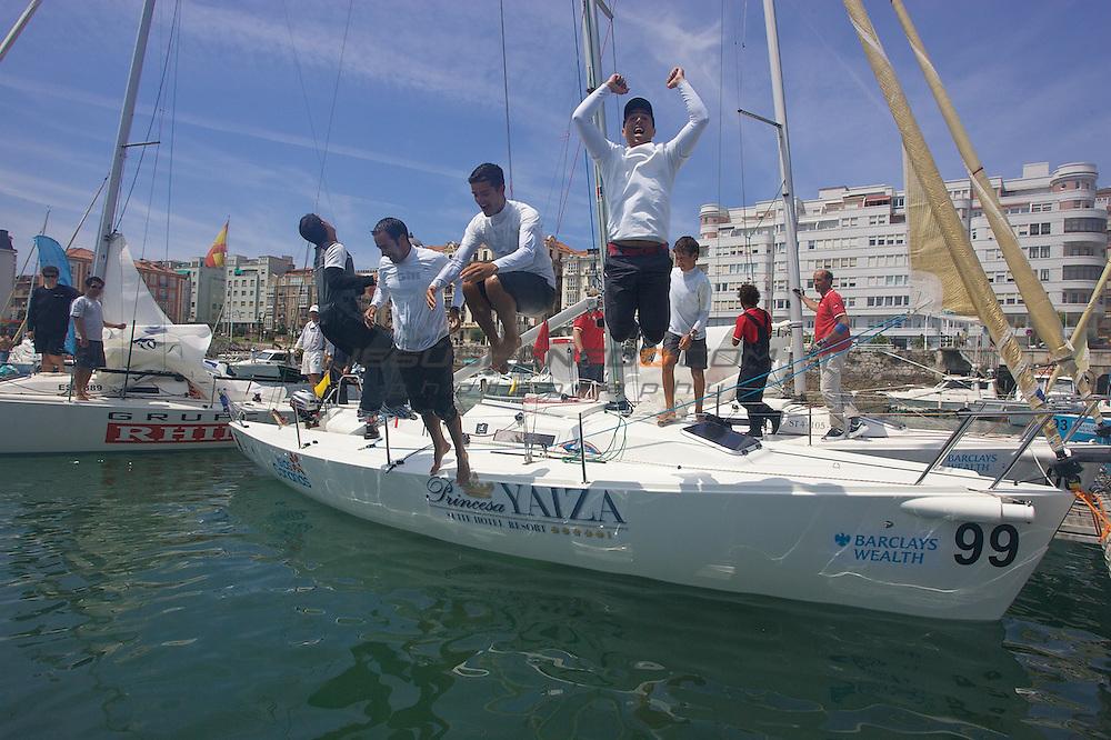 santader worlds j80  regatas  finales