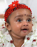 Padma and Raj Nunna family portrait