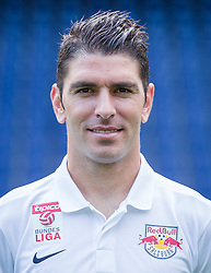 27.06.2014, Red Bull Arean, Salzburg, AUT, 1. FBL, Fototermin FC Red Bull Salzburg, im Bild Jonatan Soriano // Jonatan Soriano during the official Team and Portrait Photoshoot of Austrian Football Team FC Red Bull Salzburg at the Red Bull Arena, Salzburg, Austria on 2014/06/27. EXPA Pictures © 2014, PhotoCredit: EXPA/ JFK