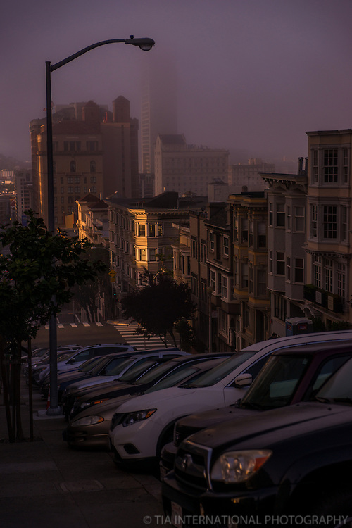 Mason Street, Morning Fog
