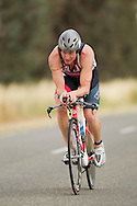 Leon GRIFFIN 03:51:27. Iornman 70.3 Shepparton. Hosted By The Shepparton Triathlon Club. 13/11/2011. Photo By Lucas Wroe.