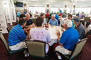 20180716, Monday, July 16, 2018, Foxborough, MA, USA – My Brother's Keeper 12th annual fundraising golf tournament at Foxborough Country Club on Monday July 16, 2018. The day long golfing event culminated in a dinner for attendees, silent auction and traditional vocal auction which featured luxury vacation getaways as well as many prime tickets to Boston sporting events including Red Sox, Bruins and Patriots tickets. <br /> <br /> ( 2018 © lightchaser photography )