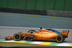 November 9, 2018 - Sao Paulo, Brazil - 47 NORRIS Lando (gbr), McLaren Renault MCL33, action during the 2018 Formula One World Championship, Brazil Grand Prix from November 08 to 11 in Sao Paulo, Brazil -  FIA Formula One World Championship 2018, Grand Prix of Brazil World Championship;2018;Grand Prix;Brazil  (Credit Image: © Hoch Zwei via ZUMA Wire)