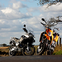 Two Wheels Only<br /> BMW&amp;KTM<br /> Twin Test in Surrey<br /> All images &copy; Malcolm Griffiths<br /> Contact:+44(0)7768 230706<br /> malgriff@btconnect.com