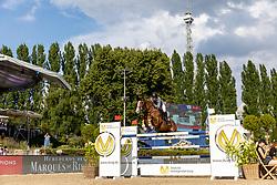 ALVAREZ AZNAR Eduardo (ESP), Seringat<br /> Berlin - Global Jumping Berlin 2018<br /> CSI5* Preis der Deutsche Vermögensberatung<br /> 1. Wertung für Global Champions League<br /> 27. Juli 2018<br /> © www.sportfotos-lafrentz.de/Stefan Lafrentz
