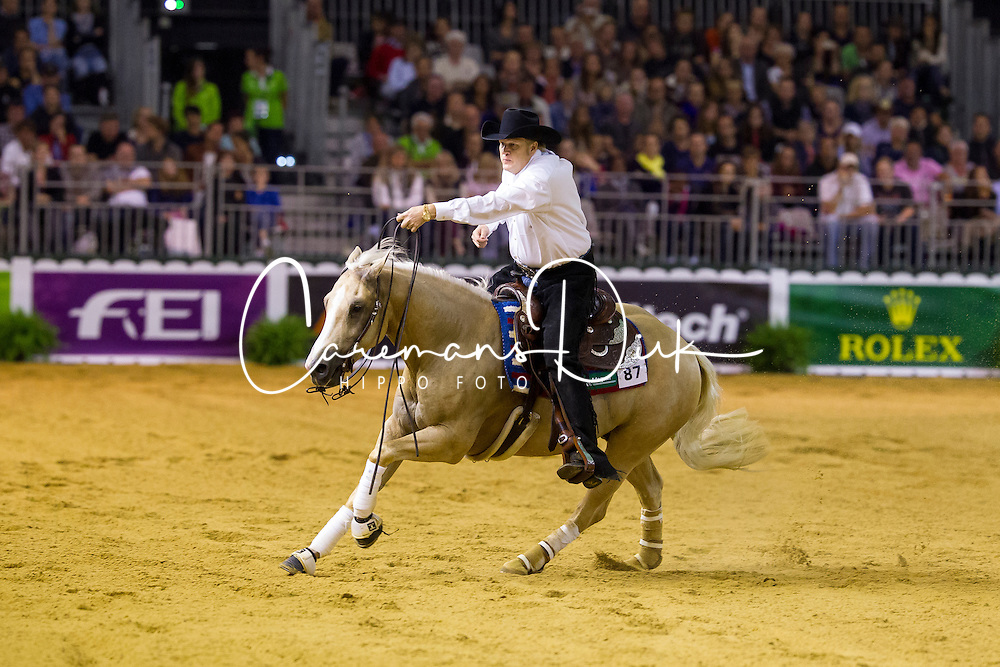 Tom Mccutcheon, (USA), Dun Git A Nicadual - Individual Final Comptetition - Alltech FEI World Equestrian Games™ 2014 - Normandy, France.<br /> © Hippo Foto Team - Leanjo De Koster<br /> 30-08-14