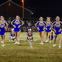 09-25-15 Berryville Cheerleaders during Shiloh Christian Game