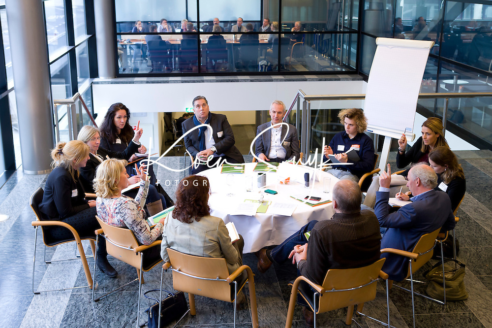 UTRECHT - Workshop  Voeding. Hockeycongres bij de Rabobank in Utrecht. FOTO KOEN SUYK