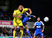 Burton's Chris O'Grady during the EFL Sky Bet Championship match between Ipswich Town and Burton Albion at Portman Road, Ipswich, England on 18 October 2016. Photo by Richard Holmes.