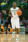 WACO, TX - JANUARY 31: Kenny Chery #1 of the Baylor Bears brings the ball up court against the Texas Longhorns on January 31, 2015 at the Ferrell Center in Waco, Texas.  (Photo by Cooper Neill/Getty Images) *** Local Caption *** Kenny Chery