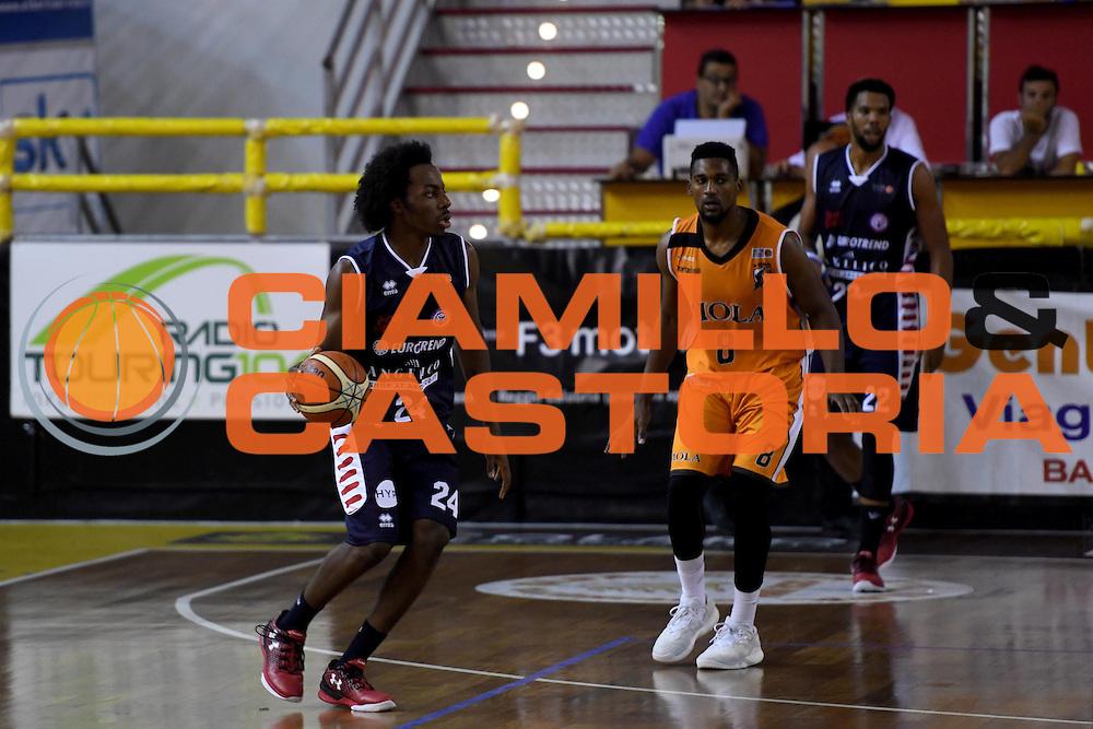 Carl Wheatle<br /> Viola Reggio Calabria - Angelico Biella<br /> Campionato Basket LNP 2016/2017<br /> Reggio Calabria 09/10/2016<br /> Foto Ciamillo-Castoria