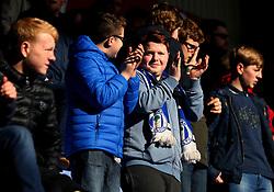 Wigan Athletic fans - Mandatory by-line: Robbie Stephenson/JMP - 24/02/2018 - FOOTBALL - DW Stadium - Wigan, England - Wigan Athletic v Rochdale - Sky Bet League One