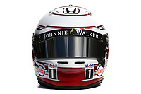 MAGNUSSEN kevin (dan) test driver mclaren honda mp430 ambiance casque helmet during 2015 Formula 1 championship at Melbourne, Australia Grand Prix, from March 13th to 15th. Photo DPP.