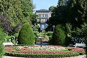 Villa Alwind mit Garten bei Lindau, Bodensee, Bayern, Deutschland