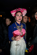 SARAH ARNOLD;, Puma/ Hussein Chalayan Retrospective Exhibition. Design Museum, London. 21 January 2009. *** Local Caption *** -DO NOT ARCHIVE-&copy; Copyright Photograph by Dafydd Jones. 248 Clapham Rd. London SW9 0PZ. Tel 0207 820 0771. www.dafjones.com.<br /> SARAH ARNOLD;, Puma/ Hussein Chalayan Retrospective Exhibition. Design Museum, London. 21 January 2009.