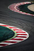 March 7-10, 2017: Circuit de Catalunya. curb detail