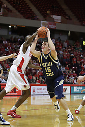04 December 2010: Danny Piepoli during an NCAA basketball game between the Montana State Bobcats and the Illinois State Redbirds at Redbird Arena in Normal Illinois.