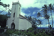 Father Damien's Church, Kalaupapa, Molokai, Hawaii, USA<br />