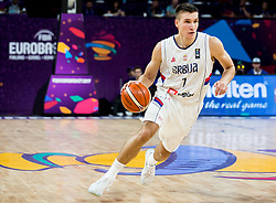 Bogdan Bogdanovic of Serbia during basketball match between National Teams of Serbia and Hungary at Day 11 in Round of 16 of the FIBA EuroBasket 2017 at Sinan Erdem Dome in Istanbul, Turkey on September 10, 2017. Photo by Vid Ponikvar / Sportida